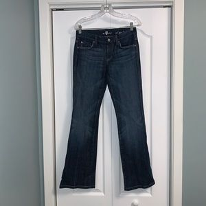 7 For All Mankind A Pocket Flare Jeans size 26